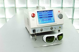 Laser equipment for surgery and power therapy LAKHTA-MILON